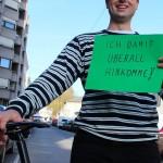 Ich fahre gerne Rad, weil ich damit überall hinkomme! (CC) Margit Plaman