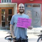 Ich fahre gerne Rad, weil ich Sport und einen ökologischen Lebensstil verbinde (CC) Patrik Hladschik