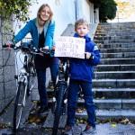 Wir fahren gerne Rad, weil es uns Spass macht! (CC) Rudolf Ramberger