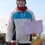 Ich fahre gerne Rad, weil es Stress abbaut (CC) Margit Palman