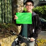 Ich fahre geren Rad, weil ich schnell meine Wege ohne Parkplatzsuche in Döbling erledige. (CC) Katharina Irsa-Haimböck