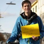 Ich fahre gerne Rad, weil ich mich frei fühle. (CC) Andrea Leindl