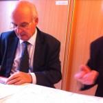 Im Gespräch mit der Bezirksvorstehung Döbling BV Tiller und Ing. Trinkl