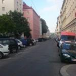Vom Fischerbräu kann die Schegargasse nun bis zur Döblinger Hauptstrasse mit dem Rad befahren werden. (CC) Markus Straub