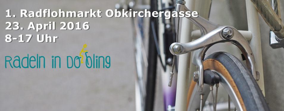 1. Rad-Flohmarkt Obkirchergasse