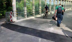 Skywalk Lösung der Entwässerung Ende der Stolperfalle