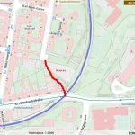 Die Durchwegung Leidesdorfgasse am Stadtplan (C) Stadtplan Wien
