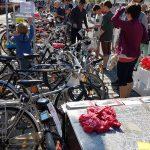 Ein paar Dutzend Räder betreuten wir an unserem Verkaufsstand Ecke Obkirchergasse / Arbesbachgasse (CC) Radeln in Döbling