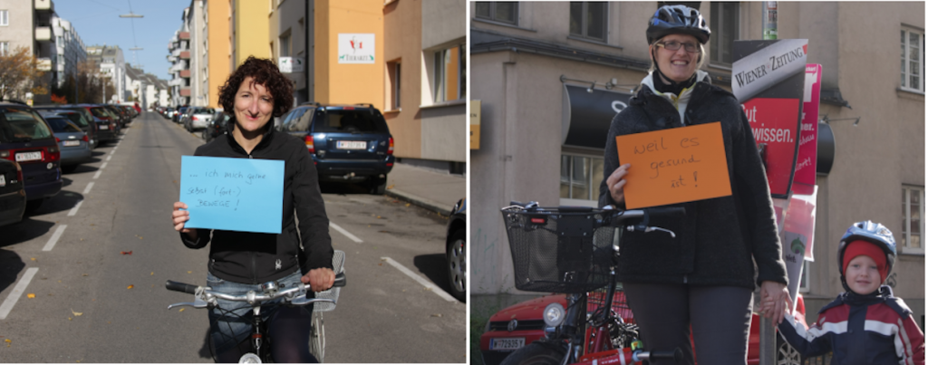 Gesund bleiben durch Radfahren (CC Radeln in Döbling)